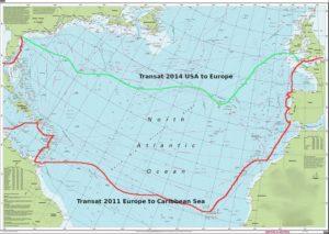 transat routes